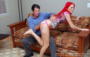 Firm Hand Spanking - Spanking Challenge - A - image 12