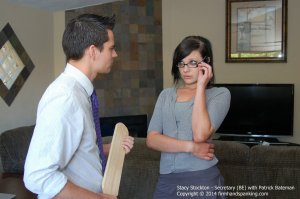 Firm Hand Spanking - Secretary - Be - image 8