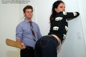 Firm Hand Spanking - Principal's Office - Au - image 6
