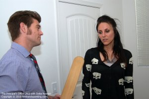 Firm Hand Spanking - Principal's Office - Au - image 9