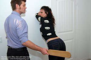 Firm Hand Spanking - Principal's Office - Au - image 15