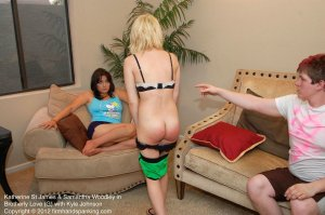 Firm Hand Spanking - Brotherly Love - G - image 3