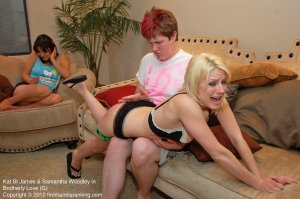 Firm Hand Spanking - Brotherly Love - G - image 12