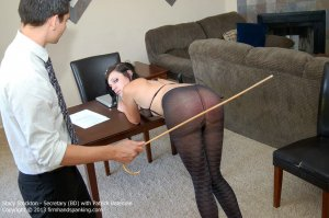 Firm Hand Spanking - Secretary - Bd - image 1