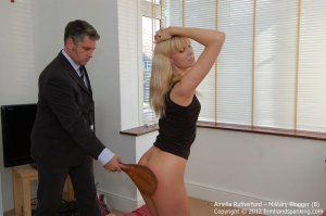Firm Hand Spanking - Military Blogger - B - image 2