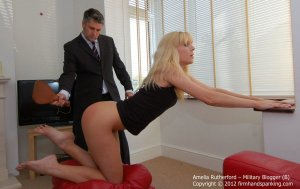 Firm Hand Spanking - Military Blogger - B - image 13