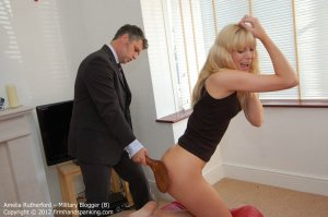 Firm Hand Spanking - Military Blogger - B - image 5