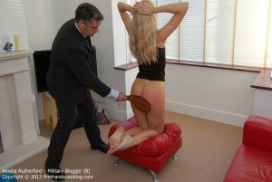 Firm Hand Spanking - Military Blogger - B - image 9