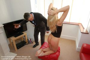 Firm Hand Spanking - Military Blogger - B - image 7