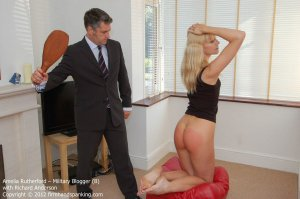 Firm Hand Spanking - Military Blogger - B - image 15