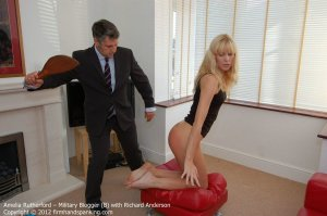 Firm Hand Spanking - Military Blogger - B - image 10