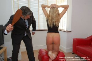 Firm Hand Spanking - Military Blogger - B - image 18