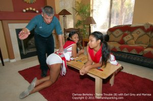 Firm Hand Spanking - Twins Trouble - B - image 9