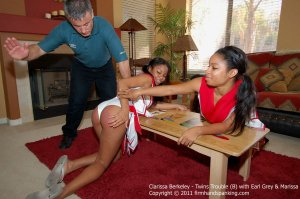 Firm Hand Spanking - Twins Trouble - B - image 12