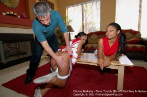 Firm Hand Spanking - Twins Trouble - B - image 8