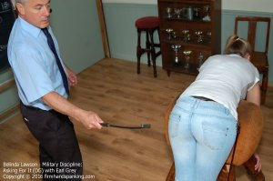 Firm Hand Spanking - Military Discipline - Df - image 12