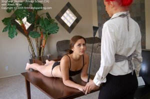 Firm Hand Spanking - Private School - Ch - image 1