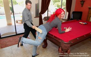 Firm Hand Spanking - Keep It In The Family - D - image 8