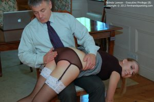 Firm Hand Spanking - Executive Privilege - B - image 2