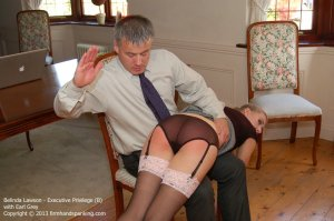 Firm Hand Spanking - Executive Privilege - B - image 16