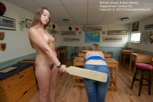 Firm Hand Spanking - Inappropriate Conduct - K - image 9