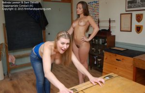 Firm Hand Spanking - Inappropriate Conduct - K - image 10