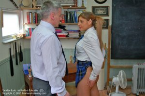 Firm Hand Spanking - A Perfect Education - G - image 5