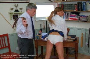 Firm Hand Spanking - A Perfect Education - G - image 12