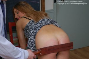 Firm Hand Spanking - A Perfect Education - K - image 2