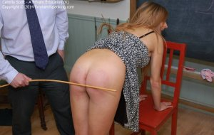 Firm Hand Spanking - A Perfect Education - K - image 7