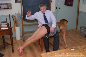 Firm Hand Spanking - A Perfect Education - K - image 15