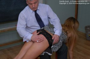 Firm Hand Spanking - A Perfect Education - K - image 1