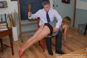 Firm Hand Spanking - A Perfect Education - K - image 18