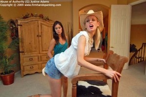Firm Hand Spanking - Abuse Of Authority - G - image 5