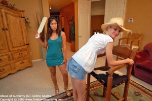 Firm Hand Spanking - Abuse Of Authority - G - image 11