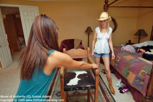 Firm Hand Spanking - Abuse Of Authority - G - image 10