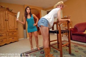 Firm Hand Spanking - Abuse Of Authority - G - image 3