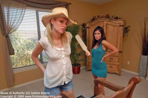 Firm Hand Spanking - Abuse Of Authority - G - image 1
