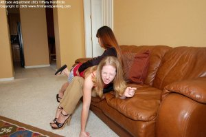 Firm Hand Spanking - Attitude Adjustment - Be - image 1