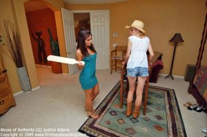 Firm Hand Spanking - Abuse Of Authority - G - image 13
