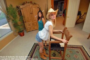 Firm Hand Spanking - Abuse Of Authority - G - image 6