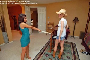 Firm Hand Spanking - Abuse Of Authority - G - image 9