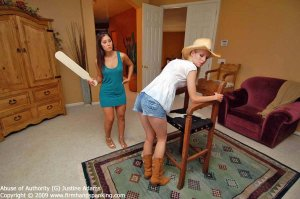 Firm Hand Spanking - Abuse Of Authority - G - image 16