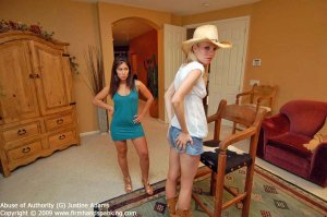 Firm Hand Spanking - Abuse Of Authority - G - image 12