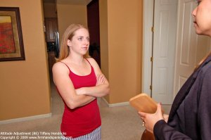 Firm Hand Spanking - Attitude Adjustment - Be - image 3