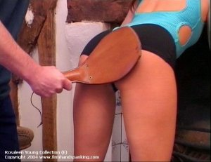 Firm Hand Spanking - Paddled By The Coach - image 13