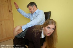 Firm Hand Spanking - End Of Term - B - image 5