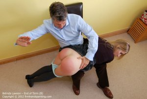 Firm Hand Spanking - End Of Term - B - image 8