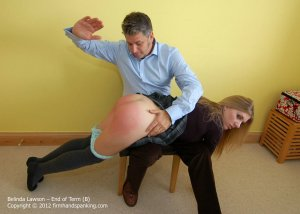 Firm Hand Spanking - End Of Term - B - image 2