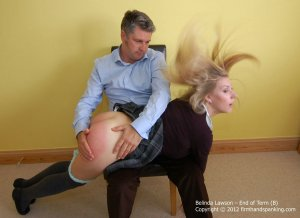 Firm Hand Spanking - End Of Term - B - image 7